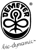 The logo of the Demeter certification